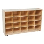 Wood Designs™ 20 Tray Storage Without Trays, Birch
