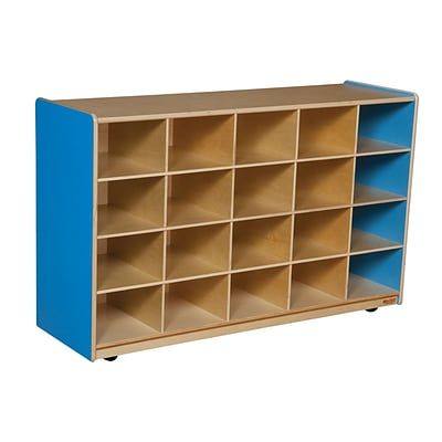 Wood Designs™ 20 Tray Storage Without Trays, Blueberry