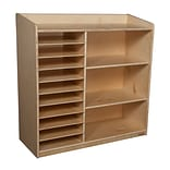 Wood Designs™ Sensorial Discovery Shelving Without Trays, Birch