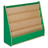 Wood Designs™ Literacy 29(H) Plywood Book Display Stand, Green Apple