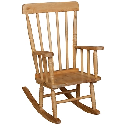 Wood Designs™ 10(H) Hardwood Childs Rugged Rocker