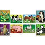 Melissa & Doug® 12 x 9 Puzzle Set, Mothers and Baby Animals, 8/Pack