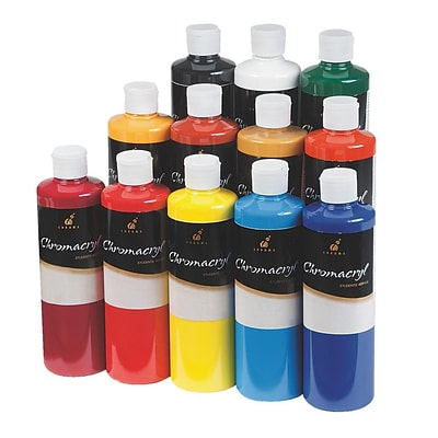 Chromacryl® 16 oz. Acrylic Paint Set, 12/Pack