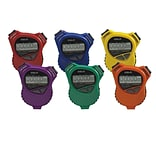 S&S® Robic Oslo 1000 W Stopwatch Countdown Timer, 6/Pack