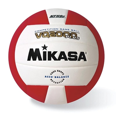 Mikasa® Premier Series Indoor Competition Volleyball, Scarlet