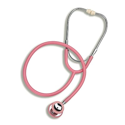 Briggs Healthcare Mabis Caliber Series Stethoscope, 30, Pink (10-432-095)
