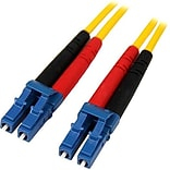 Startech 13.1 LC/LC OS1 Singlemode Duplex Fiber Optic Patch Cable; Yellow