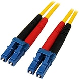 Startech 22.97 LC/LC OS1 Singlemode Duplex Fiber Optic Patch Cable; Yellow