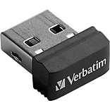Verbatim® Store n Stay 64 GB Nano USB Flash Drive
