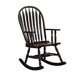 COASTER Rockers Wood Rocking Chair Black