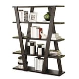 COASTER Modern Bookshelf  Open Shelves