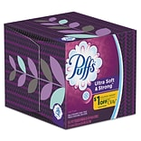 Puffs® Cube Ultra Soft 2-Ply Facial Tissues, 56/Box