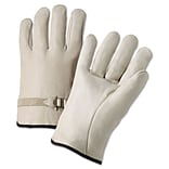 Lrg Cowhide Leather Premium Driver Gloves