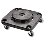 Rubbermaid® Commercial Brute® Square Dolly For 3526, 3536 Containers, Black, 1 Each