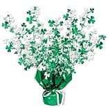 15 Shamrock Gleam N Burst Centerpiece
