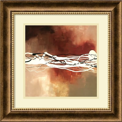 Amanti Art Laurie Maitland Copper Melody I Framed Art, 18.12 x 18.12