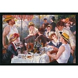 Amanti Art Auguste Renoir Luncheon of the Boating Party...,1881 Framed Art, 25.38 x 37.38