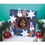 Geeperz™ Winter Wonderland Frame Craft Kit, 24/Pack