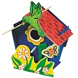 Geeperz™ Wooden Birdhouse Craft Kit, 12/Pack