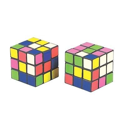 S&S(r) Mini Magic Cube Puzzles, 12/Pack