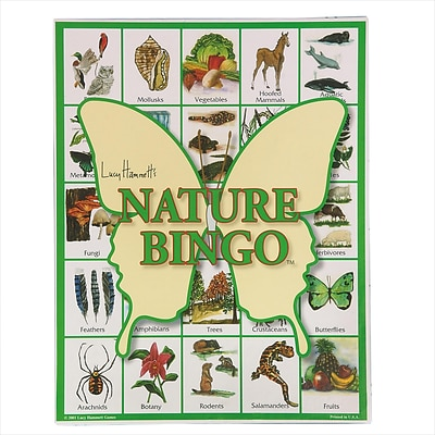 S&S® Lucy Hammetts Nature Bingo