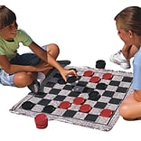 S&S® 28 x 28 Jumbo Checkers & Backgammon Game Rug