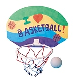 Color-Me™ 11 x 7 1/2 Basketball Hoop Craft Kit Without Markers, 12/Pack