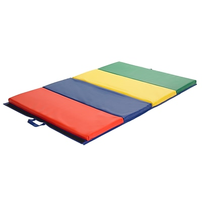 ECR4®Kids Four-Section Tumbling Mat; 4 x 6