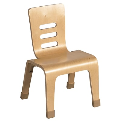 ECR4®Kids 16(H) Bentwood Chair, Natural, 2/Pack