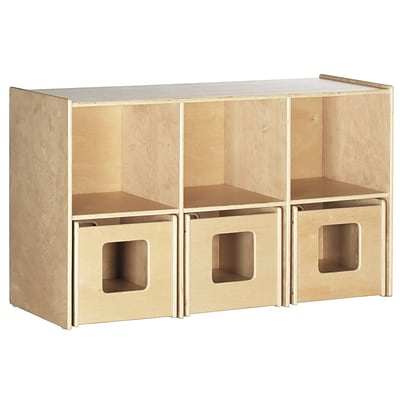ECR4®Kids See and Store™ Shelf, Natural