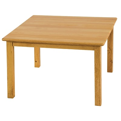 ECR4Kids 30 Square Hardwood Table with 22 Legs (ELR-072)