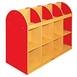 ECR4®Kids Colorful Essentials™ 2-Sided Standard Book Stand, Red