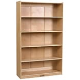 ECR4®Kids 60 Classic Birch Bookcase, Natural