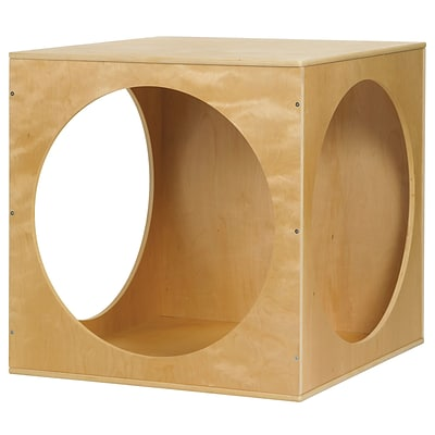 ECR4®Kids Playhouse Cube Frame; Natural