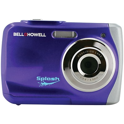 Bell & Howell WP7 Splash 12 MP Waterproof Digital Camera, Purple