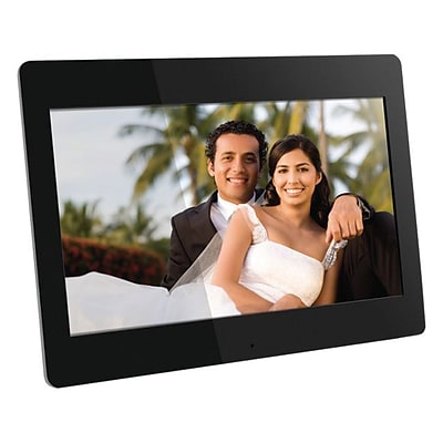 Aluratek ADMPF114F LCD Digital Photo Frame With 512MB Built-in Memory; 14