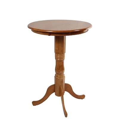 Boraam 42 Hardwood Spectator Pub Table; Fruitwood