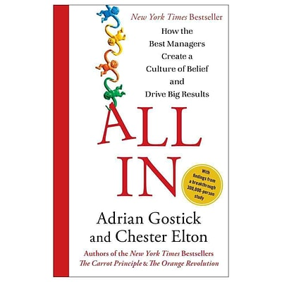 All In Adrian Gostick, Chester Elton Hardcover