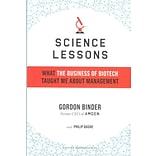 Science Lessons Gordon Binder, Philip Bashe Hardcover
