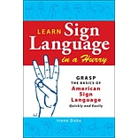 Learn Sign Language in a Hurry Irene Duke Paperback