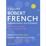 Collins Robert French Dictionary / Le Robert & Collins Dictionnaire