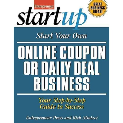 Start Your Own Online Coupon or Daily Deal Business Rich Mintzer, Entrepreneur Magazine Paperback