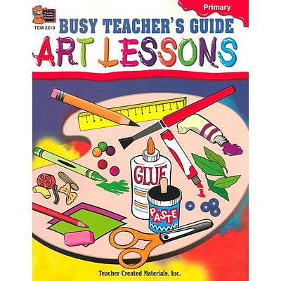 Busy Teachers Guide: Art Lessons Michelle M. Mcauliffe Paperback