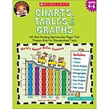 Charts, Tables & Graphs, Grades 4-6 (Funnybone Books) Michael Priestley Paperback