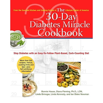 The 30-Day Diabetes Miracle CookbookThe 30-Day Diabetes Miracle Cookbook Paperback
