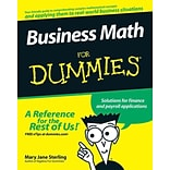 Business Math For Dummies Mary Jane Sterling Paperback