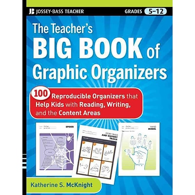 The Teachers Big Book of Graphic Organizers Katherine S. McKnight Paperback