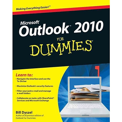 Outlook 2010 For Dummies Bill Dyszel Paperback