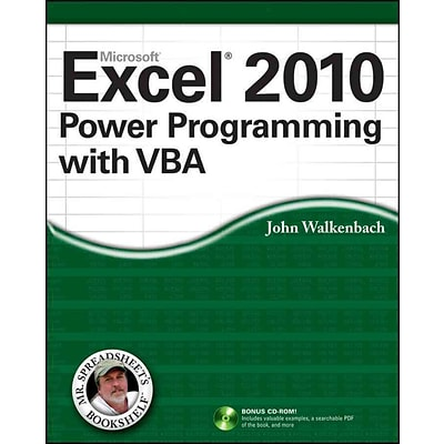 excel 2010 power programming with vba mr spreadsheets