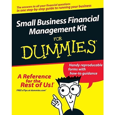 Small Business Financial Management Kit For Dummies Tage C. Tracy, John A. Tracy Paperback